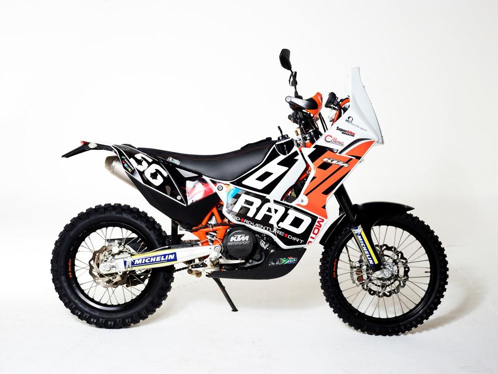 Generation #2 Omega KTM 690 Rally/Adv kit – Please use omega fibre
